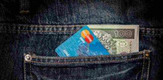 Karta bankowa debetowa
