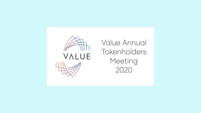 Value - Walne Zgromadzenie Tokenariuszy