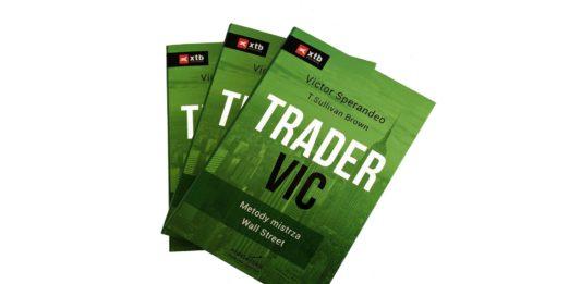 Trader VIC - Metody Mistrza Wall Street - okładka