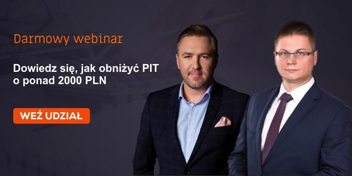 Jak obniżyć PIT o 2000 zł - webinar
