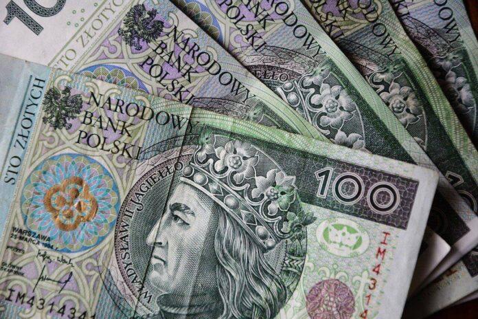 pieniądze na dowód osobisty