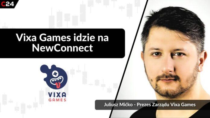 Vixa Games idzie na NewConnect