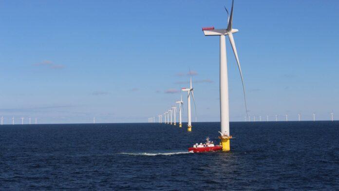 farmy wiatrowe na Bałtyku