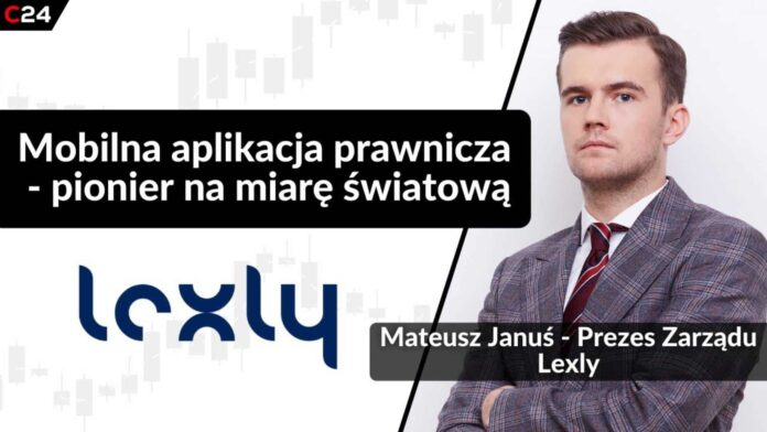 Mobilna aplikacja prawnicza - Lexly