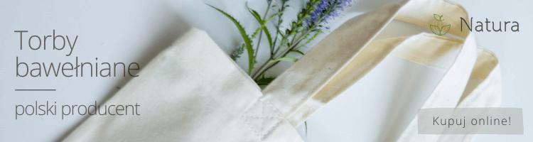 Producent toreb bawełnianych Natura