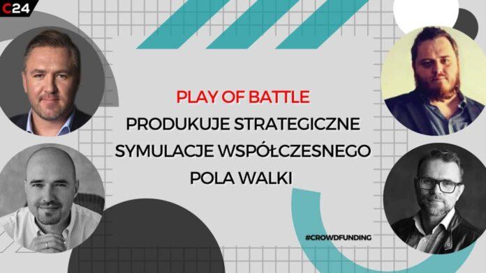 Play of Battle produkuje strategiczne symulacje współczesnego pola walki