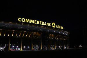 Stadion we Frankfurcie z nazwą sponsora
