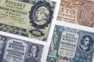 Polskie banknoty z okresu II Wojny Światowej