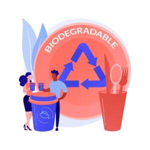 Kosz na produkty biodegradowalne