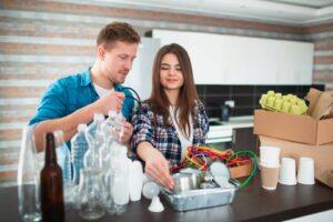 Segregacja plastików i biotworzyw