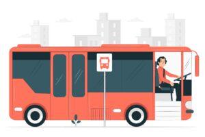 Kierowca autobusu - grafika