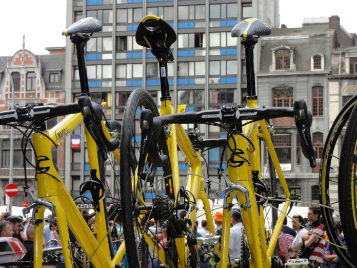 Rower zwycięzcy Tour de France
