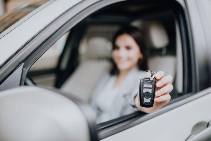 leasing auta - kluczyki