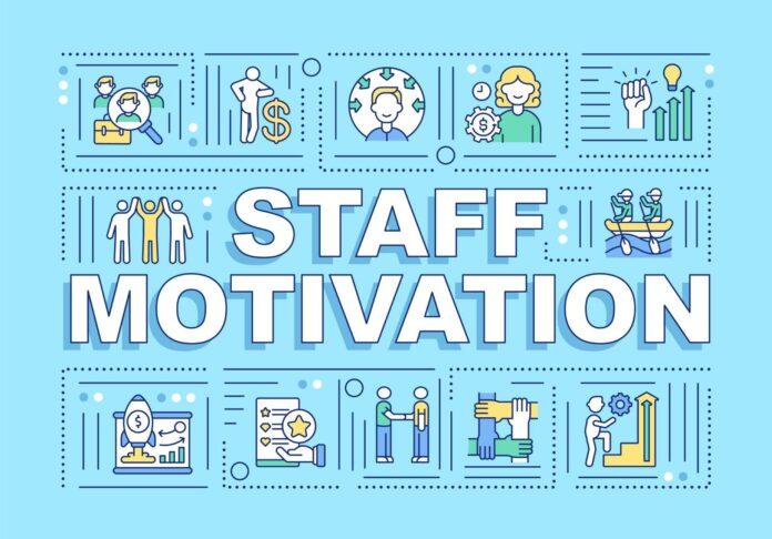 Grafika przedstawiająca sposoby motywowania pracowników