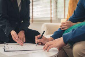 Para podpisująca umowę kredytu