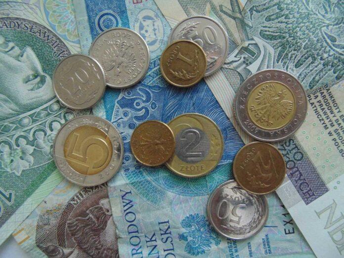 Aktualne polskie monety i banknoty