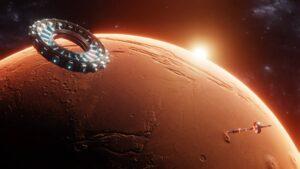 Satelity na orbicie Marsa
