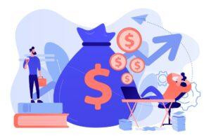 Wolność finansowa zapewniana przez dochód pasywny z inwestowania