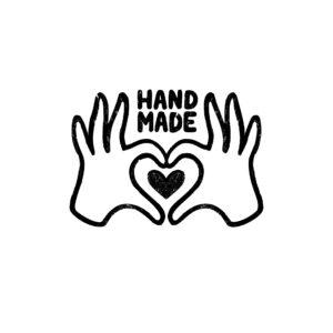 """Napis """"handmade"""""""