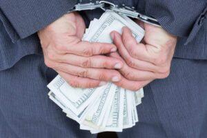 Osoba aresztowana za korupcję