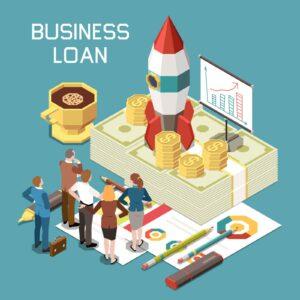 Grafika przedstawiająca kredyt na inwestycje