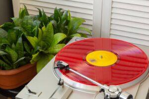 Czerwona, limitowana płyta winylowa