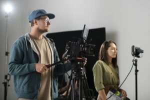 Plan filmowy podczas produkcji