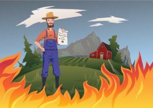 Rolnik chroniony ubezpieczeniem