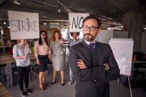 Strajk pracowniczy