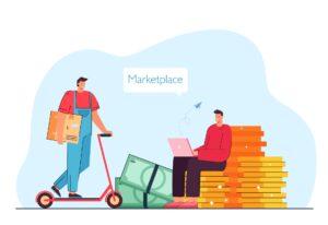 Dostawa zakupów e-commerce