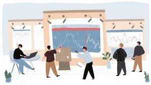 Analitycy tworzący rekomendacje giełdowe