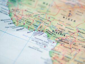 Nigeria na mapie