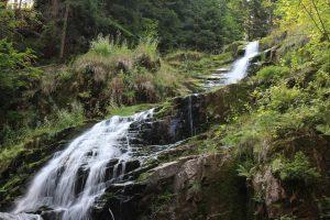 Wodospad Kamieńczyk w Szklarskiej Porębie