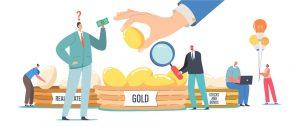Grafika prezentująca dywersyfikację inwestycji