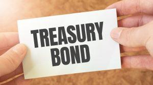 """Napis """"obligacje skarbowe"""""""